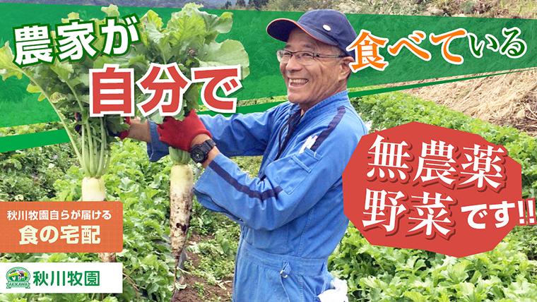 秋川牧園野菜宅配